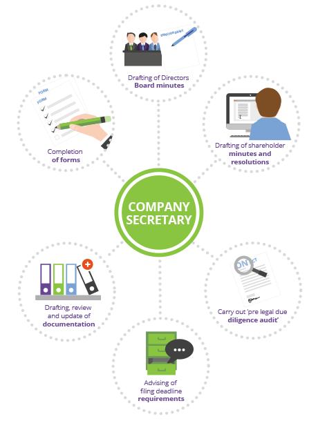 Company Secretary infographic