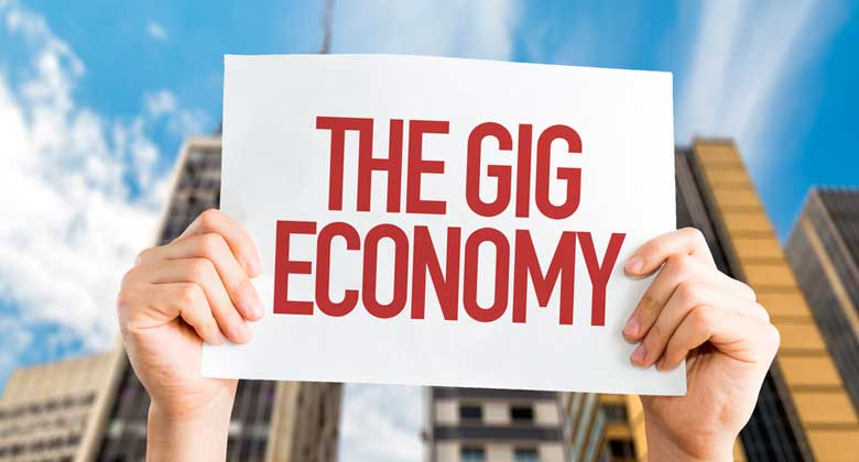 Welcome to the gig economy
