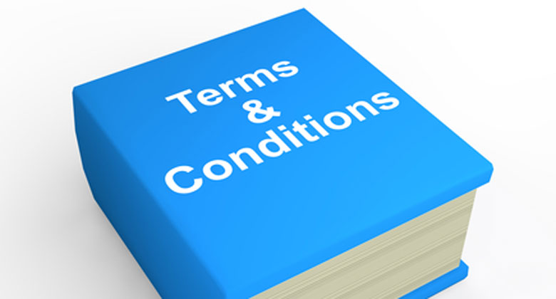 What are the benefits of terms and conditions?